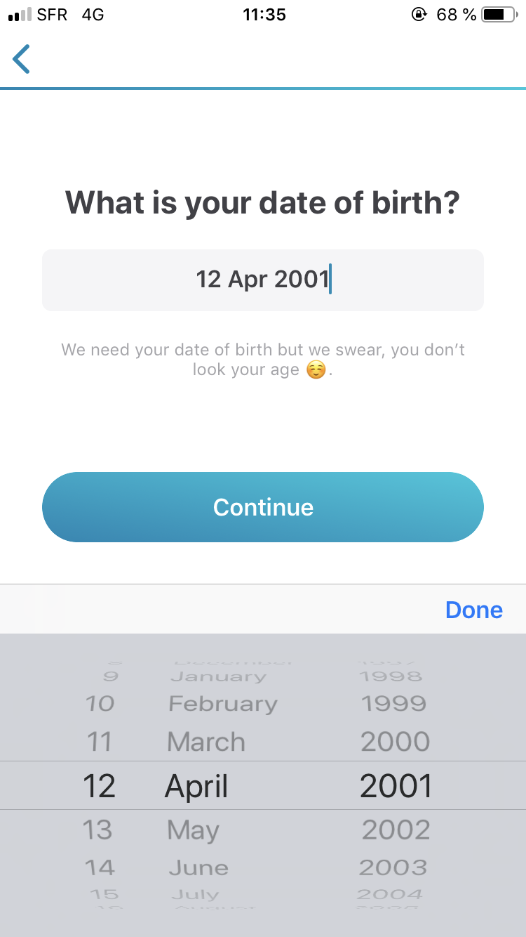 Can I sign up to happn without using Facebook? - Help Center